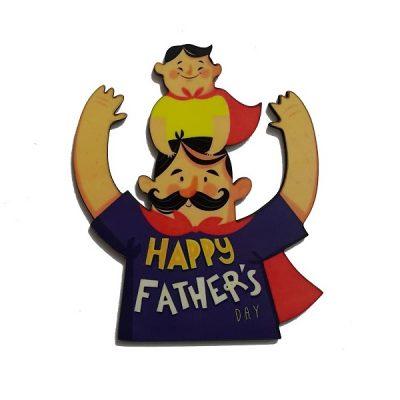 تاپر تزیین کیک بهگز مدل پدر پهلوان