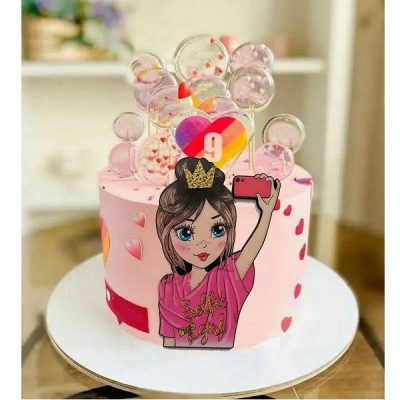تاپر تزیین کیک بهگز مدل پرنسس