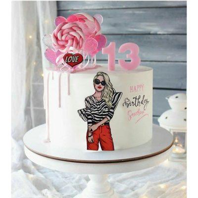 تاپر تزیین کیک بهگز مدل Stayle