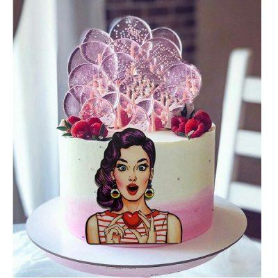 ابزار تاپر تزیین کیک بهگز مدل دخترانه