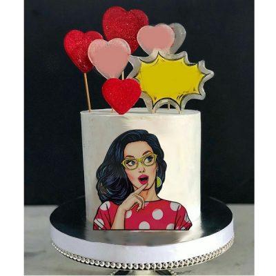 ابزار تاپر تزیین کیک بهگز مدل Girl